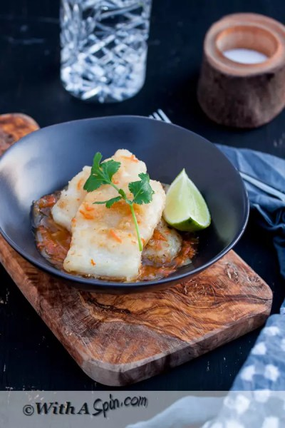 Fish in Ginger Sauce