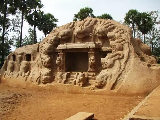 Tiger Caves, Mahabalipuram