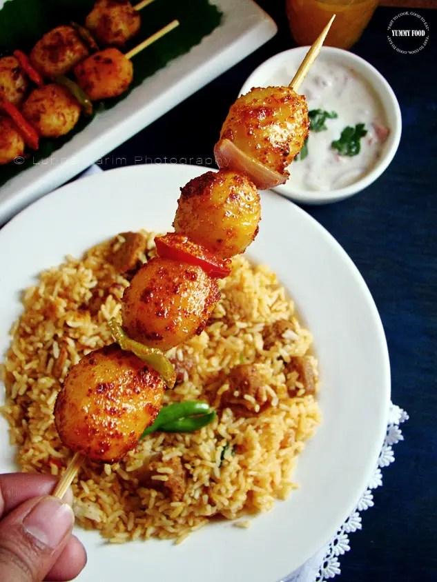 Pan Fried Tandoori Aloo