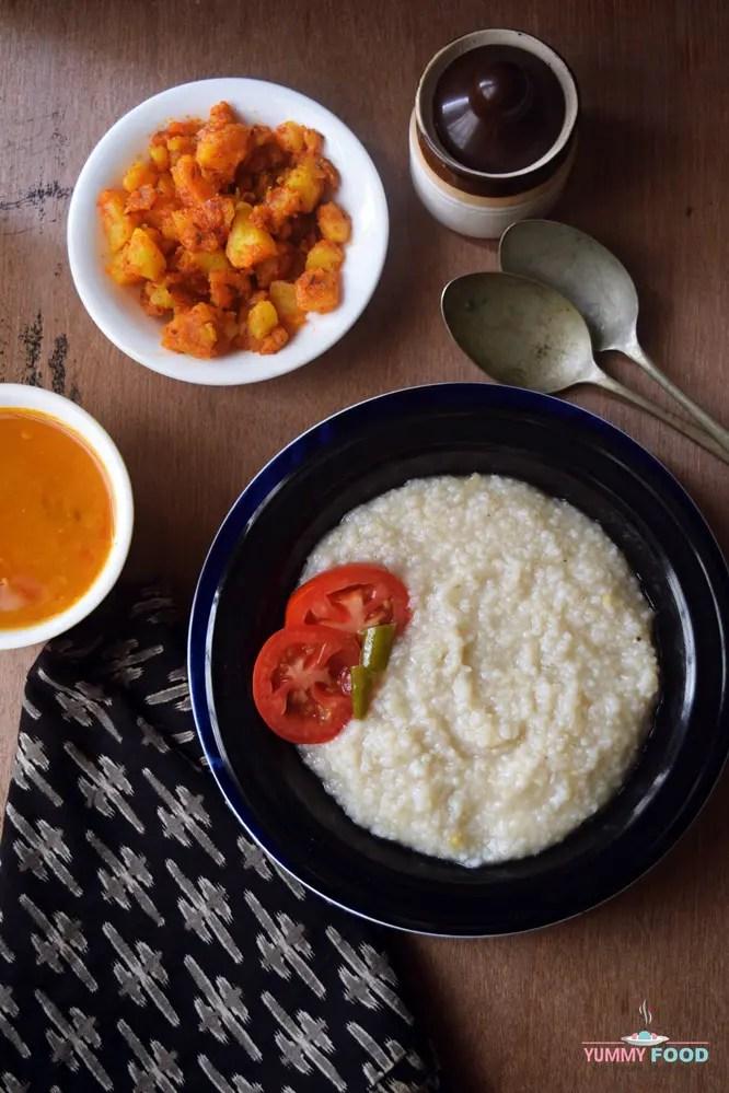 how to make Savoury Millet Porridge recipe