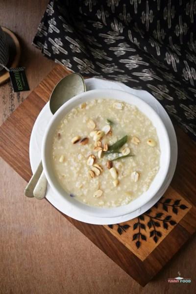 Savoury Oats Porridge and Ramadan Menu Plan (01-05)