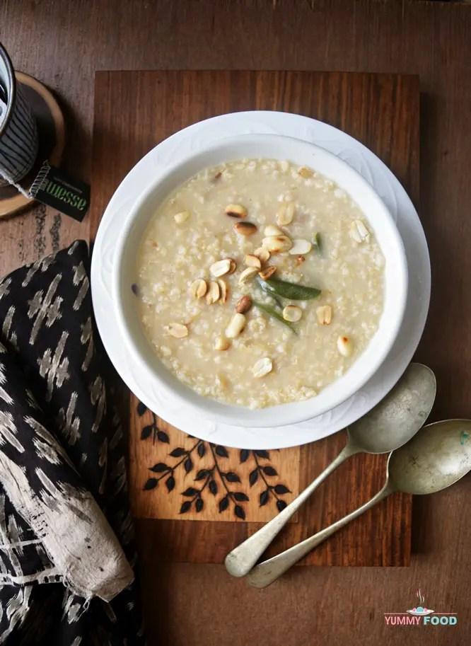 Savoury Oats Porridge