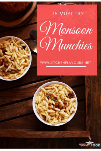 15 Must Try Monsoon Munchies