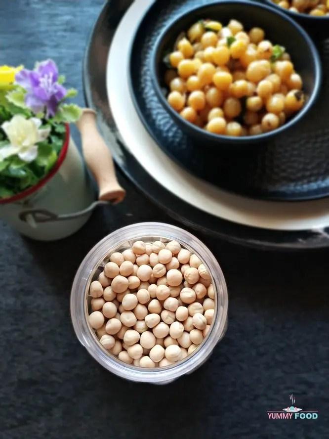 Dry White Peas Sundal