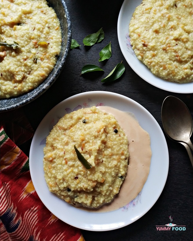 How to make pongal with millets