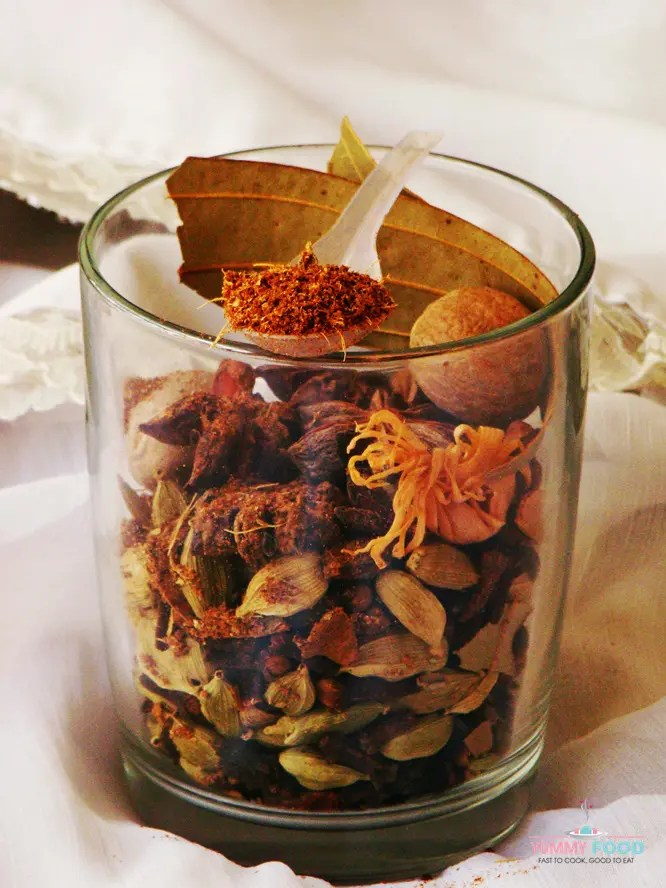 homemade shahi garam masala powder recipe