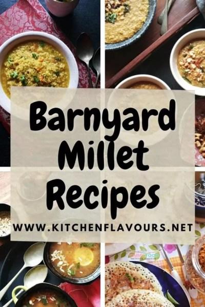 Barnyard Millet Recipes