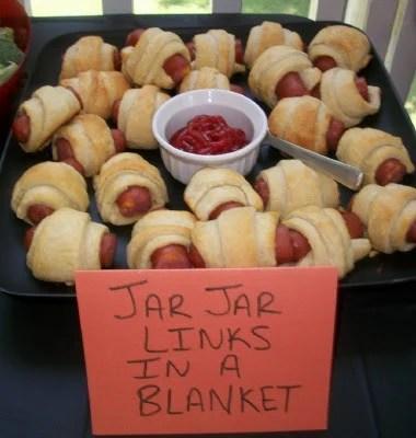 Jar Jar Links In a Blanket