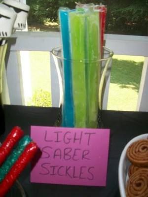 Light Saber Sickles