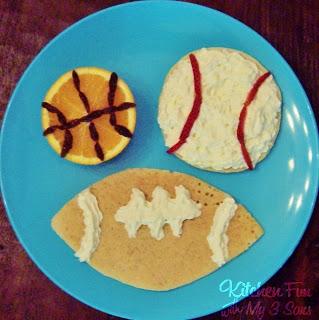 Sport Ball Pancakes