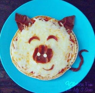 Pita Pizza Pig