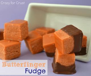Butterfinger Fudge