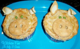Piggy Pot Pies