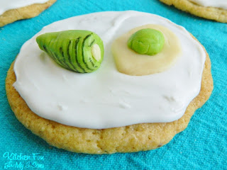 Dr. Seuss Green Eggs and Ham Cookie