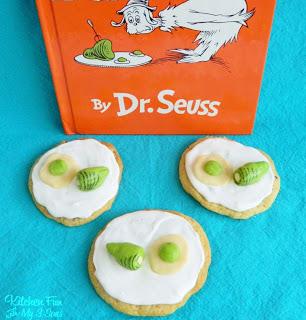 Green Eggs & Ham Cookies