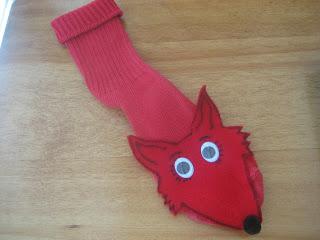Dr. Seuss Fox Socks Puppet