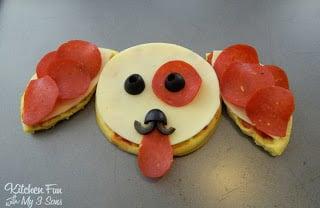 Eggo Puppy Pepperoni Pizza
