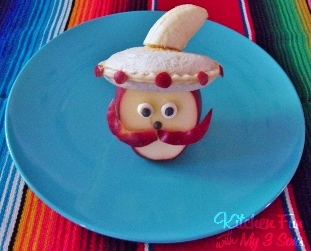 Cinco de Mayo Apple Lunch for Kids!
