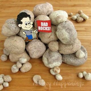 Dad Rocks Fudge