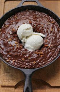 Chocolate Skillet Cake
