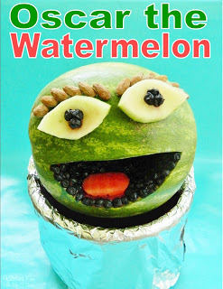 Oscar the Grouch Watermelon