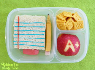 Back to School Bento Lunch
