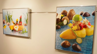 I loved the fun fruit pictures that were on the walls of some of the hallways