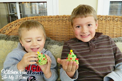 My boys absolutely loved these & thought they tasted wonderful!