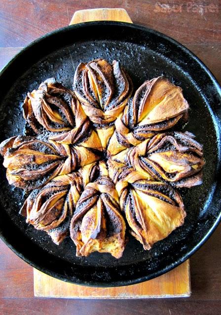 Cinnamon Flower Bread