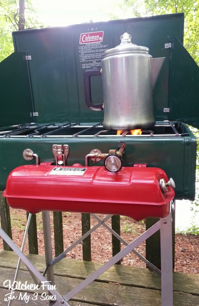 Here is our vintage grill