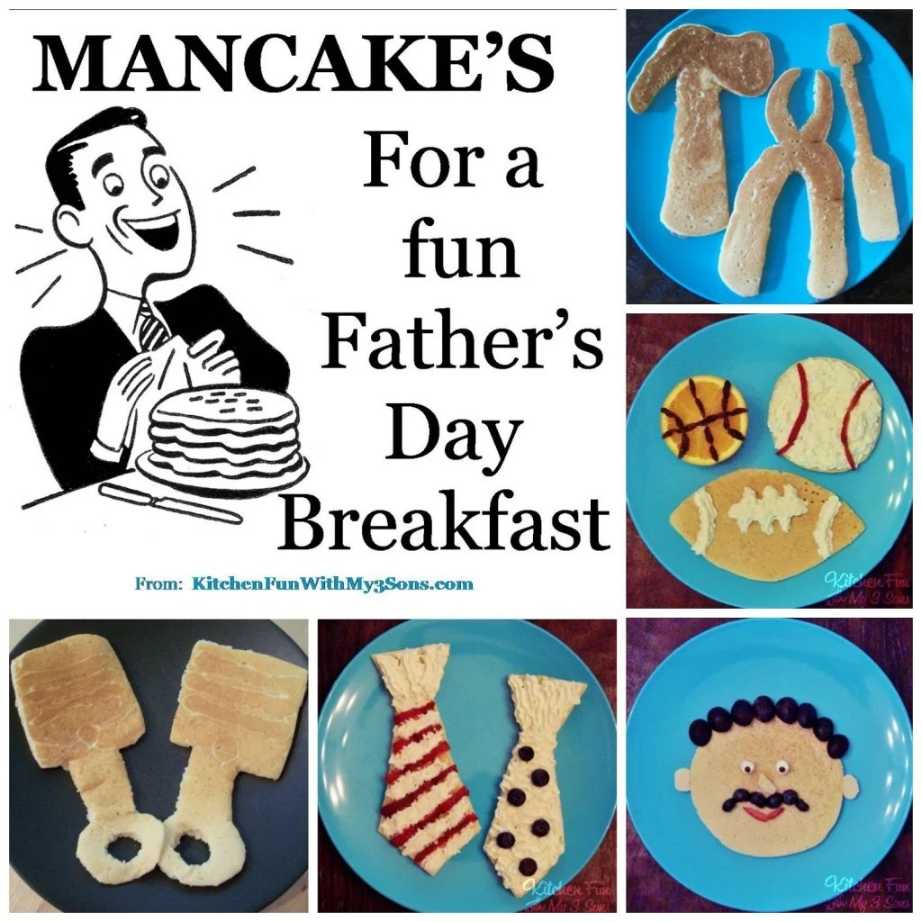 Mancake ideas
