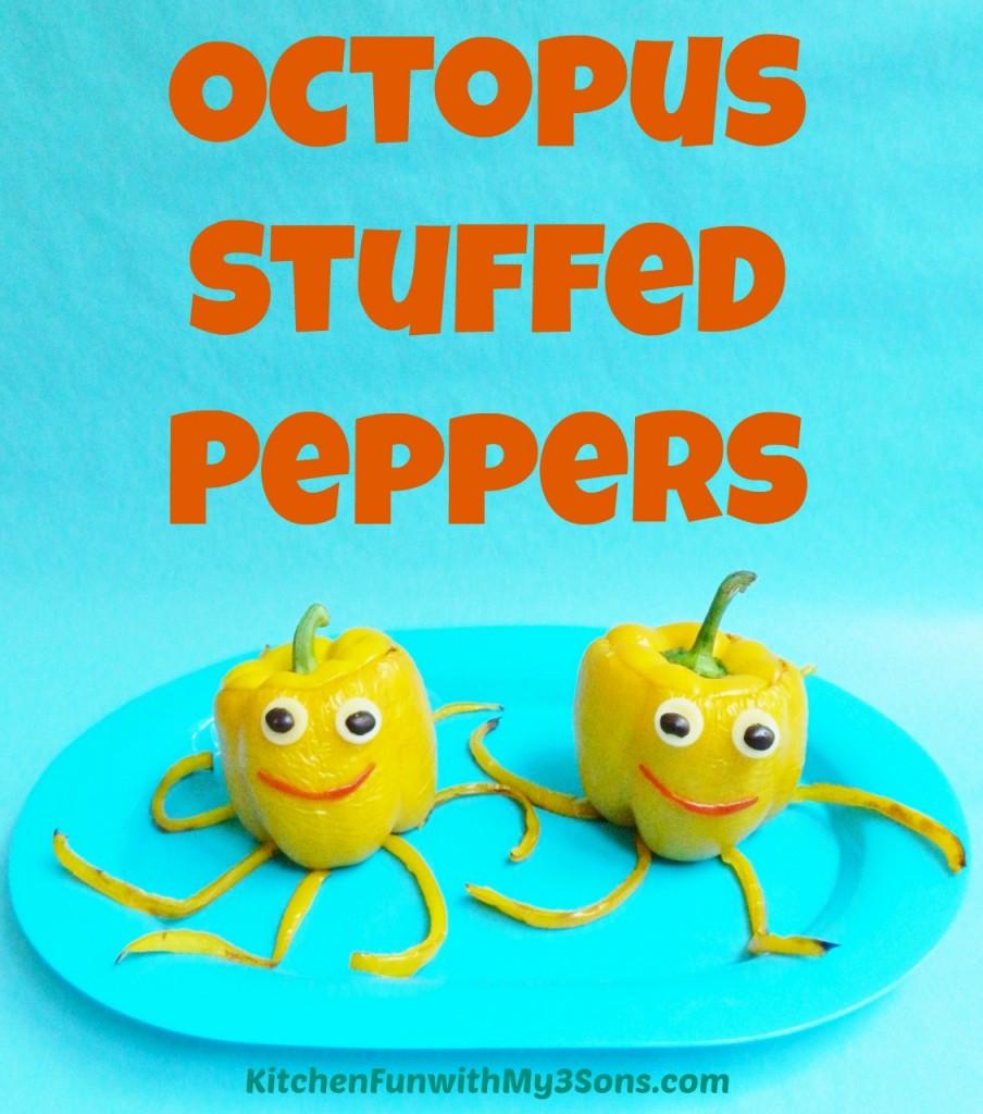 Octopus Stuffed Peppers