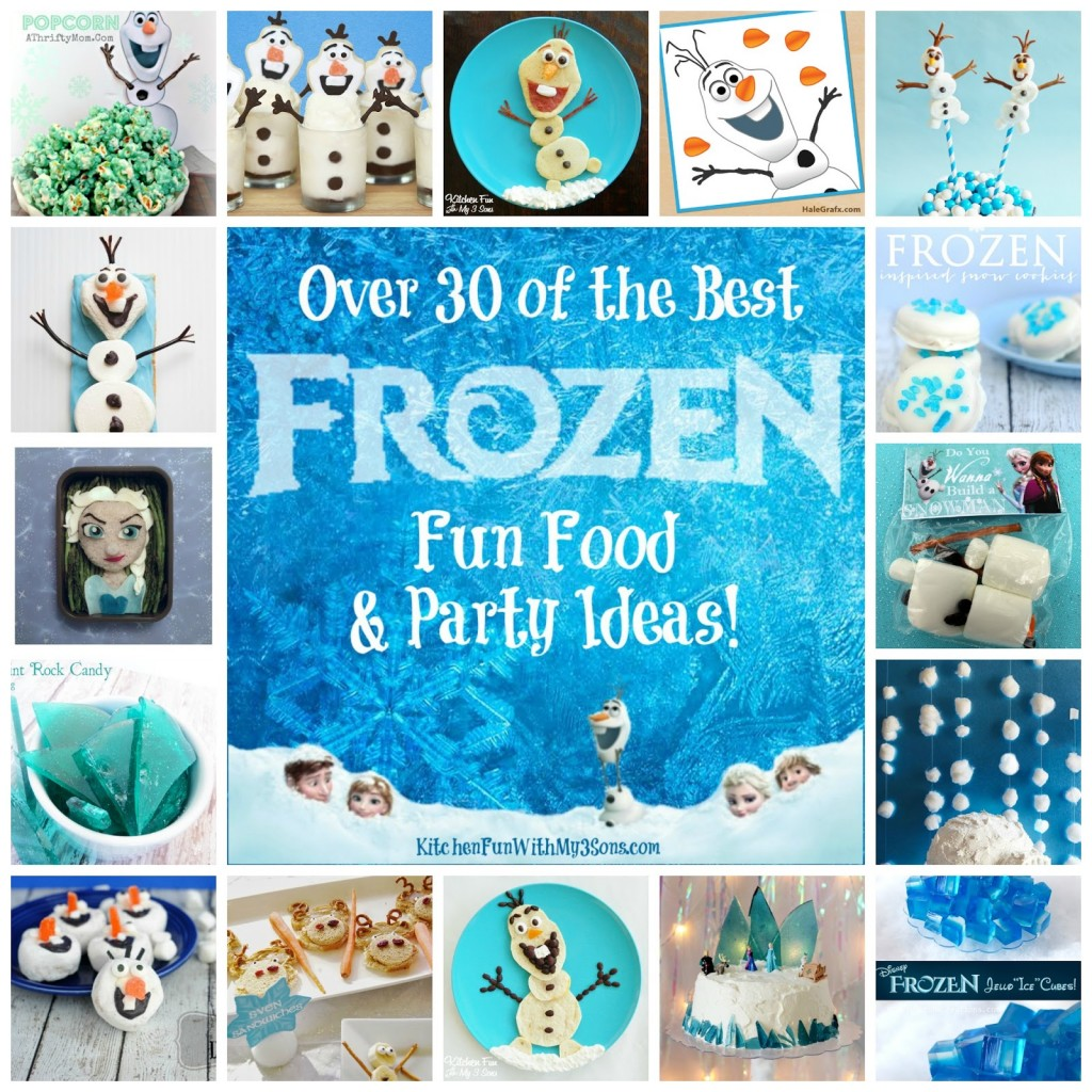 Over 30 of the Best Frozen Fun Food & Party Ideas