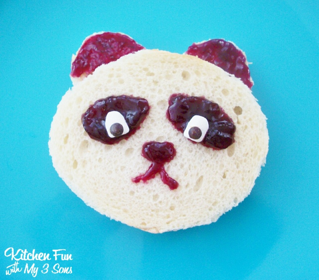 Panda PB&J Lunch