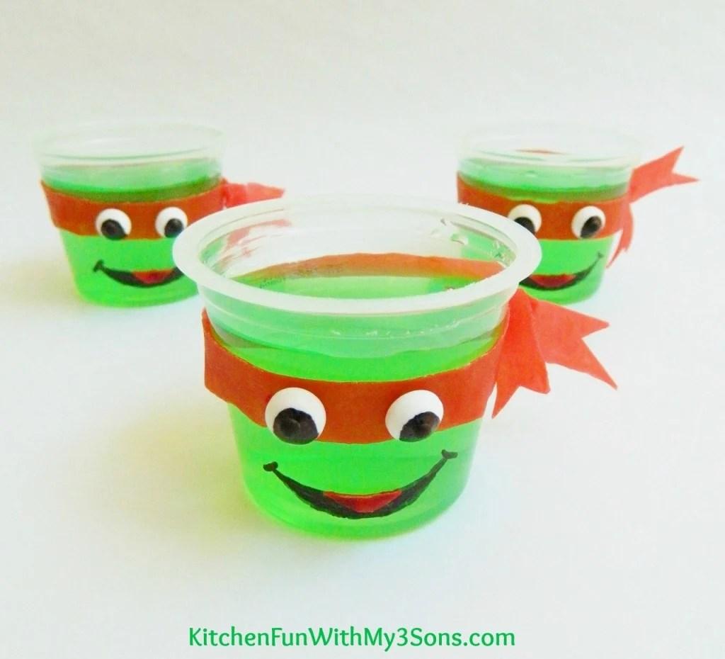Teenage Mutant Ninja Turtle JELL-O Cups