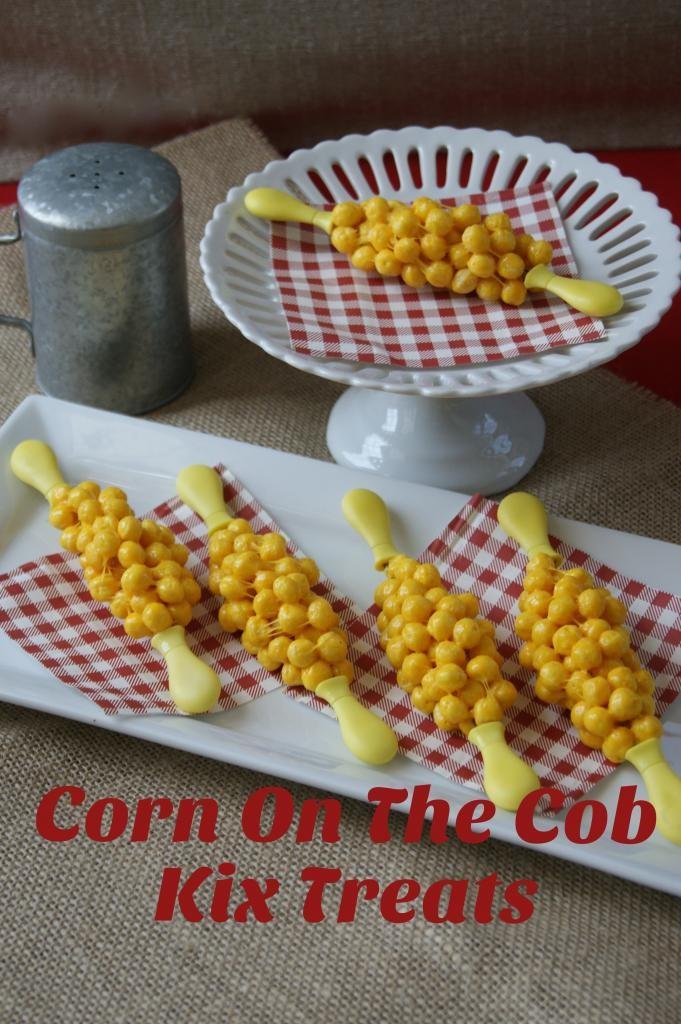 Corn on the Cobb Kix Treats