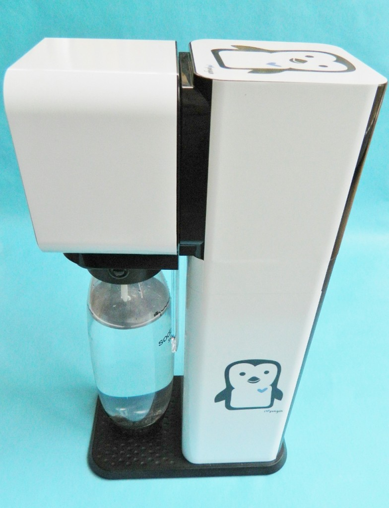 Here is a side view of our SodaStream Play