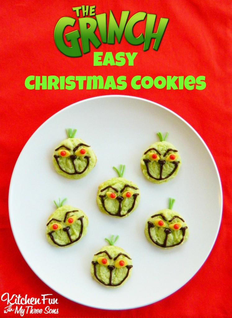 The Grinch Cookies