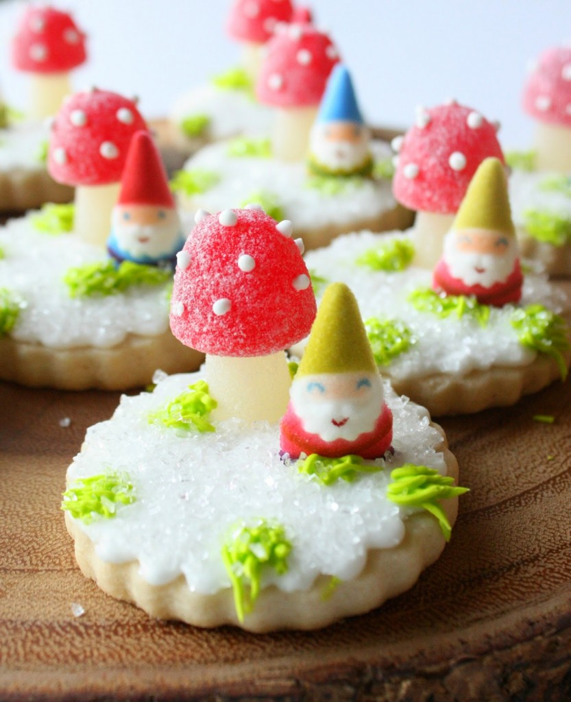 Snowy Woodland Cookies