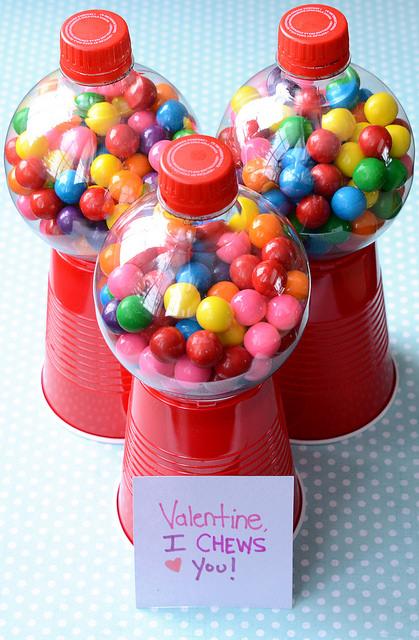 Bubblegum Valentine's Day Craft