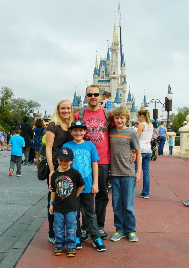 We arrived at Magic Kingdom for a full day of fun!