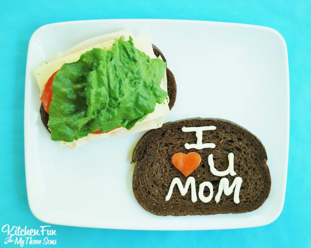 Fun Lunch Ideas for Mom using Mayo from KitchenFunWithMy3Sons.com