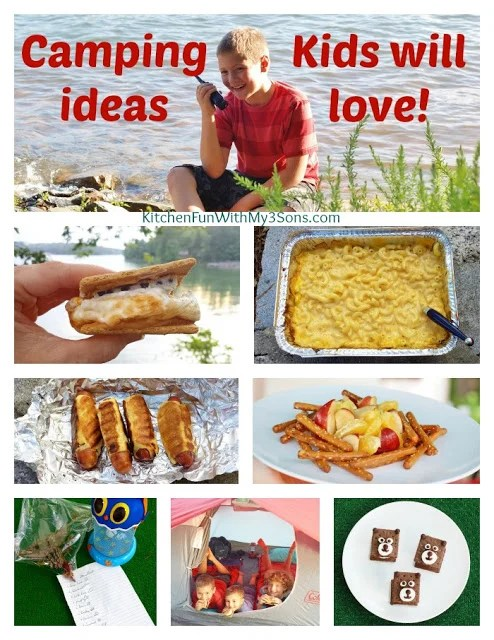 Fun Camping Ideas For Kids