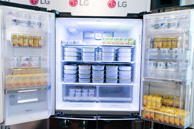 LG Double Door-in-Door Refrigerator