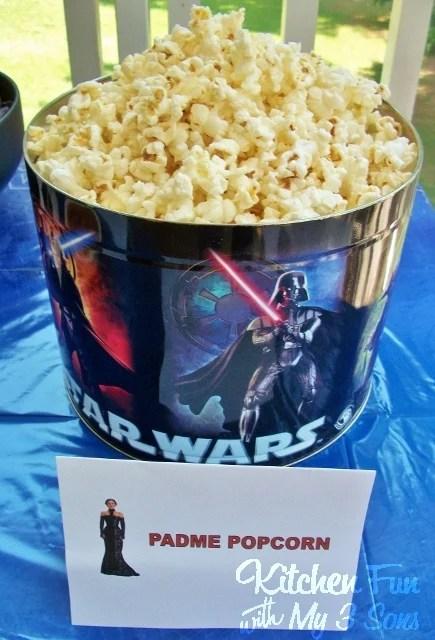 Star Wars Padme Popcorn