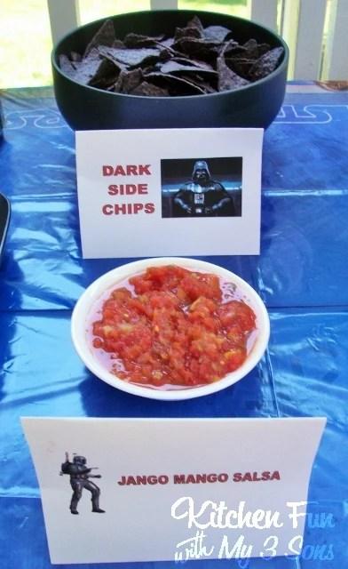 Star Wars Darth Vader Dark Side Chips