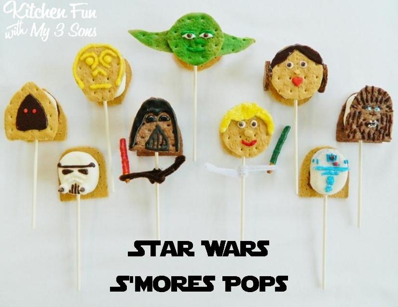 Star Wars S'mores Pops