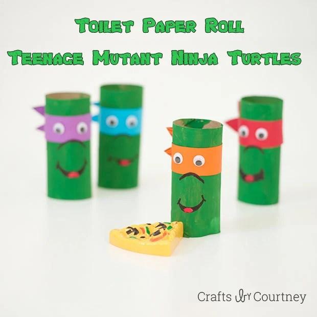 Teenage Mutant Ninja Turtles Toilet Paper Tube Craft