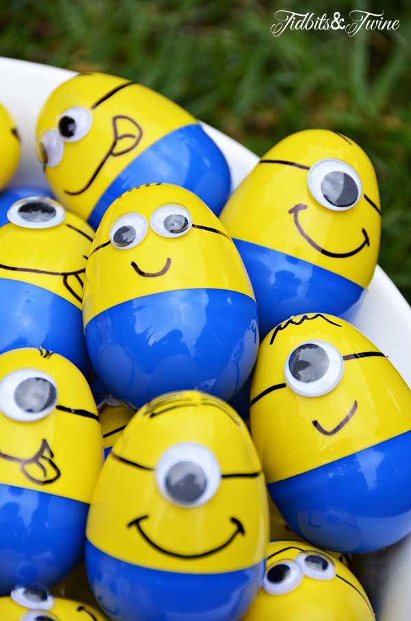 Minion Plastic Easter Eggs
