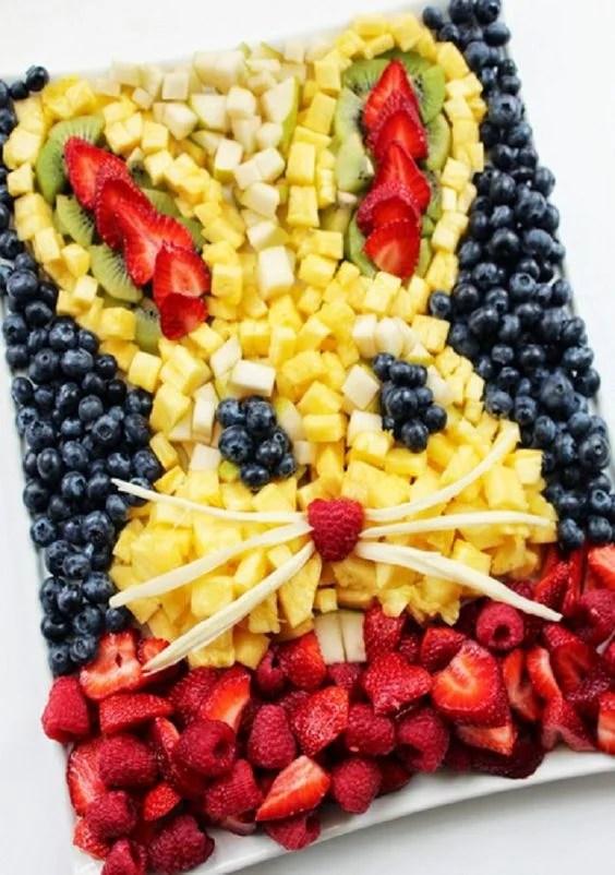 Easter Bunny Fresh Fruit Platter